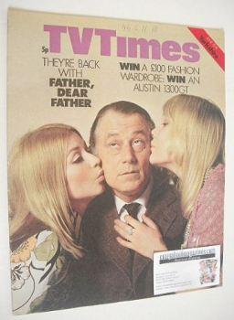 TV Times magazine - Father, Dear Father cover (12-18 June 1971)