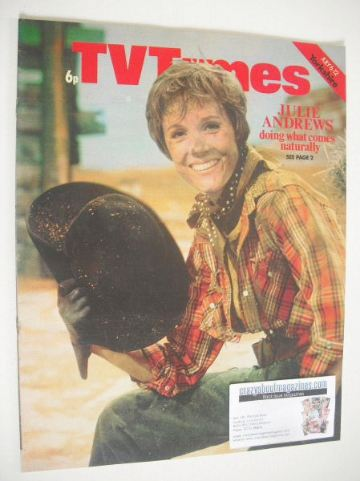 <!--1974-07-06-->TV Times magazine - Julie Andrews cover (6-12 July 1974)