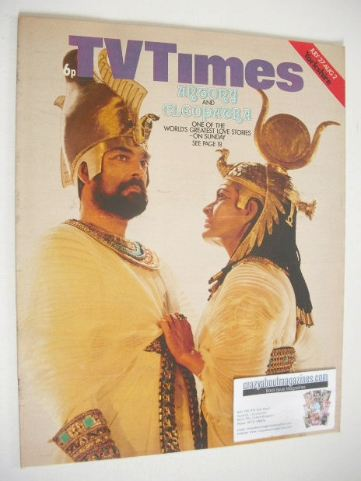 <!--1974-07-27-->TV Times magazine - Antony & Cleopatra cover (27 July - 2
