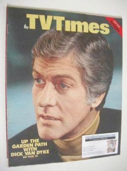 TV Times magazine - Dick Van Dyke cover (13-19 July 1974)