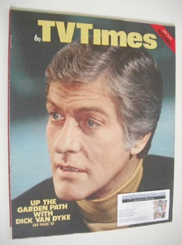 <!--1974-07-13-->TV Times magazine - Dick Van Dyke cover (13-19 July 1974)