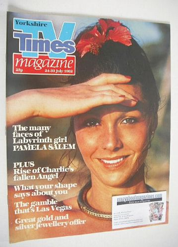 <!--1982-07-24-->TV Times magazine - Pamela Salem cover (24-30 July 1982)