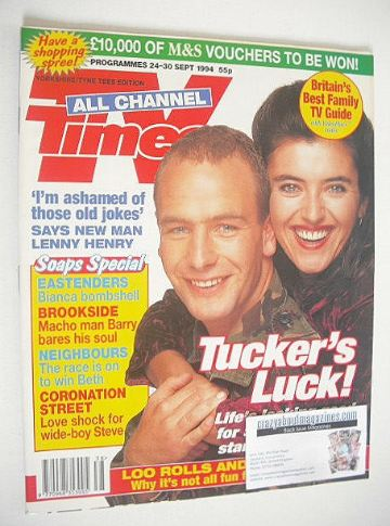<!--1994-09-24-->TV Times magazine - Soldier, Soldier cover (24-30 Septembe