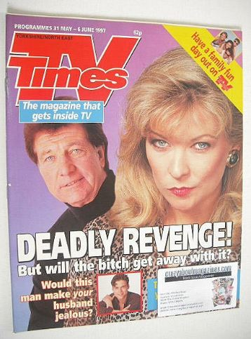 <!--1997-05-31-->TV Times magazine - Norman Bowler & Claire King cover (31