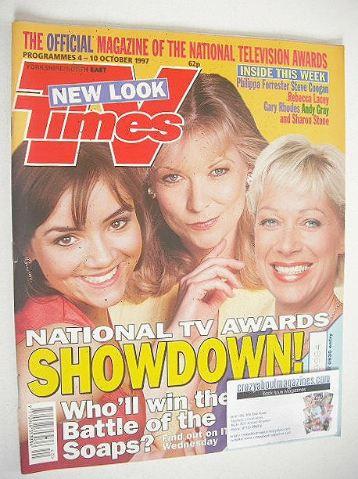 <!--1997-10-04-->TV Times magazine - Martine McCutcheon, Claire King and De