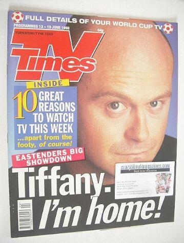 <!--1998-06-13-->TV Times magazine - Ross Kemp cover (13-19 June 1998)