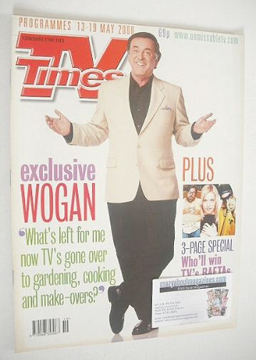 <!--2000-05-13-->TV Times magazine - Terry Wogan cover (13-19 May 2000)
