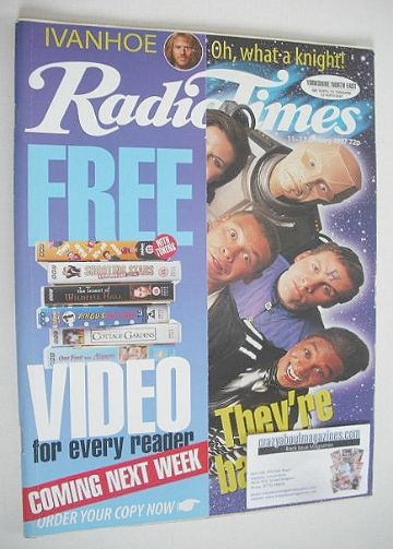 <!--1997-01-11-->Radio Times magazine - Red Dwarf cover (11-17 January 1997