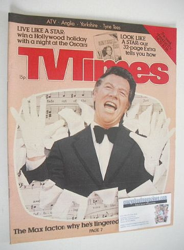 <!--1979-11-10-->TV Times magazine - Max Bygraves cover (10-16 November 197