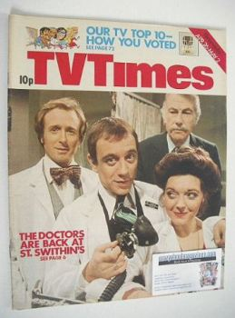 TV Times magazine - Doctor On The Go cover (26 April - 2 May 1975)