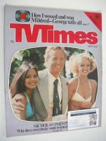<!--1977-11-12-->TV Times magazine - Nicholas Parsons cover (12-18 November 1977)