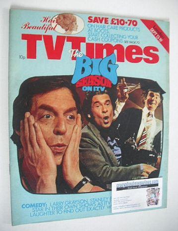 <!--1975-09-13-->TV Times magazine - Big Season on ITV cover (13-19 Septemb