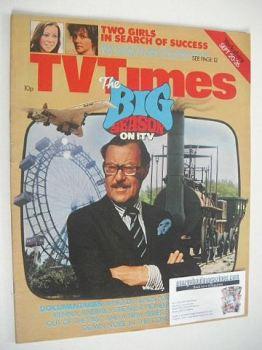 TV Times magazine - Alan Whicker cover (20-26 September 1975)