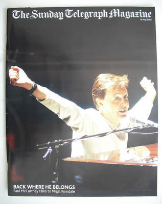 The Sunday Telegraph magazine - Paul McCartney cover (12 May 2002)