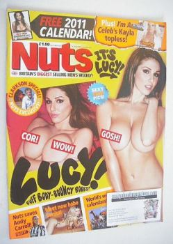 Nuts magazine - Lucy Pinder cover (19-25 November 2010)