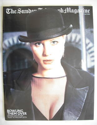 The Sunday Telegraph magazine - Denise Van Outen cover (21 April 2002)
