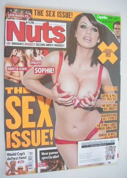 Nuts magazine - Sophie Howard cover (25 June-1 July 2010)