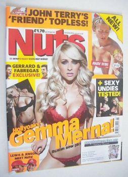 Nuts magazine - Gemma Merna cover (12-18 February 2010)