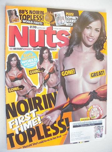<!--2009-09-11-->Nuts magazine - Noirin Kelly cover (11-17 September 2009)