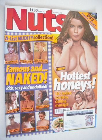 <!--2006-01-06-->Nuts magazine - Hottest Honeys cover (6-12 January 2006)