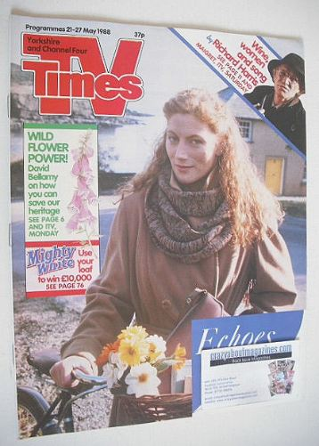 <!--1988-05-21-->TV Times magazine - Geraldine James cover (21-27 May 1988)