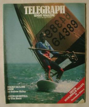 The Sunday Telegraph magazine - Peter Caldwell cover (26 August 1979)
