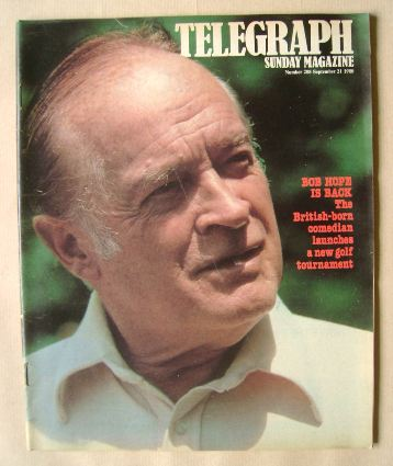<!--1980-09-21-->The Sunday Telegraph magazine - Bob Hope cover (21 Septemb