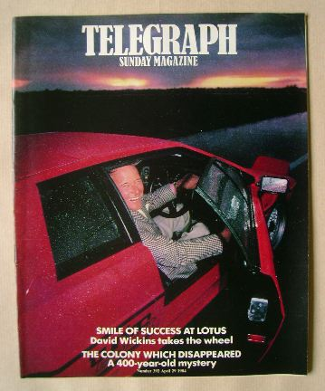 <!--1984-04-29-->The Sunday Telegraph magazine - 29 April 1984