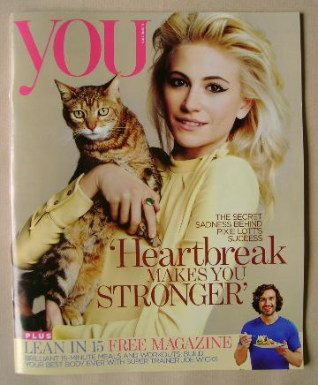 <!--2016-06-05-->You magazine - Pixie Lott cover (5 June 2016)