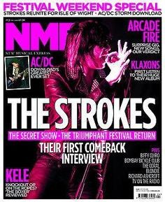 <!--2010-06-19-->NME magazine - The Strokes cover (19 June 2010)