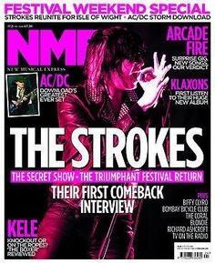 <!--2010-06-19-->NME magazine - The Strokes cover (19 June 2010)