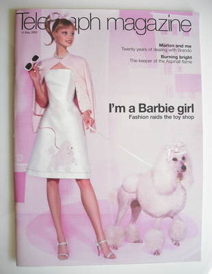 <!--2002-05-11-->Telegraph magazine - I'm A Barbie Girl cover (11 May 2002)