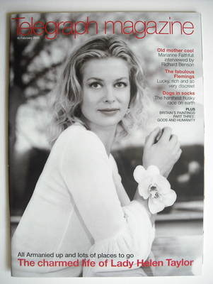 <!--2002-02-16-->Telegraph magazine - Lady Helen Taylor (16 February 2002)