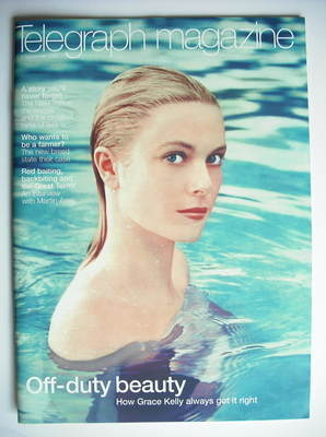 <!--2002-09-07-->Telegraph magazine - Grace Kelly cover (7 September 2002)
