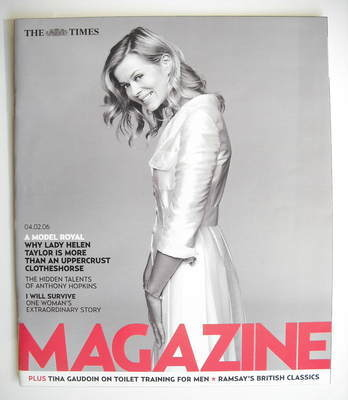 <!--2006-02-04-->The Times magazine - Lady Helen Taylor cover (4 February 2