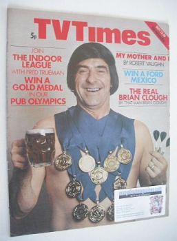TV Times magazine - Win A Gold Medal cover (22-28 September 1973)