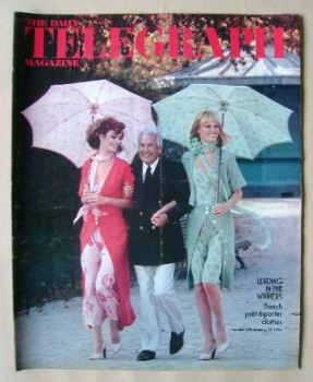 The Daily Telegraph magazine - Pret-A-Porter Clothes cover (11 January 1974)
