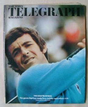 The Daily Telegraph magazine - Tony Jacklin cover (9 November 1973)