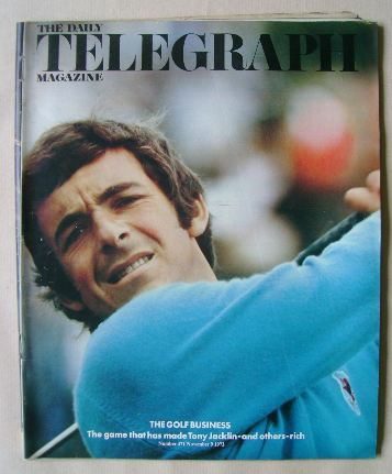 <!--1973-11-09-->The Daily Telegraph magazine - Tony Jacklin cover (9 Novem