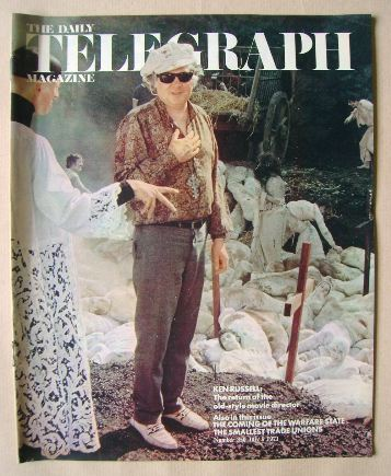 <!--1971-07-09-->The Daily Telegraph magazine - Ken Russell cover (9 July 1