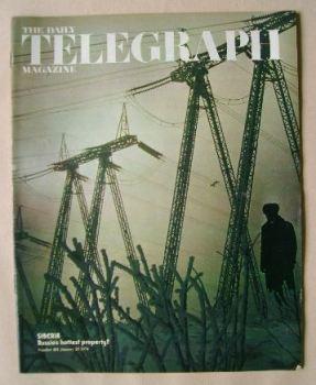 The Daily Telegraph magazine - Siberia cover (25 January 1974)