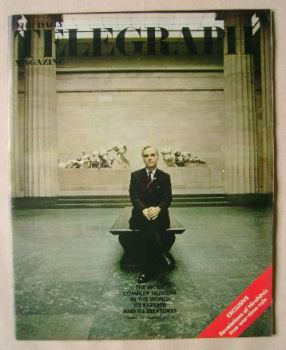 The Daily Telegraph magazine - Museum cover (19 November 1971)