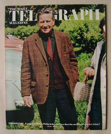 <!--1971-07-23-->The Daily Telegraph magazine - Kim Philby cover (23 July 1