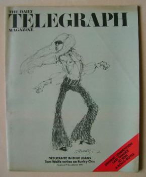 The Daily Telegraph magazine - Debutante In Blue Jeans cover (21 December 1973)
