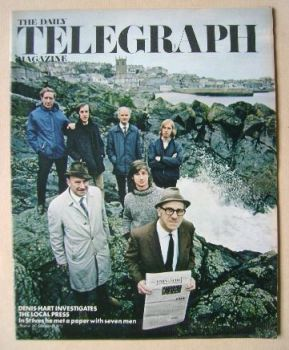 The Daily Telegraph magazine - The Local Press cover (25 February 1972)