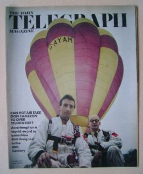 The Daily Telegraph magazine - Hot Air Balloon cover (18 June 1971)