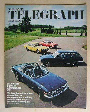 <!--1972-07-28-->The Daily Telegraph magazine - 28 July 1972