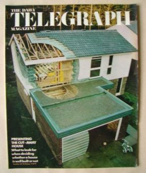 The Daily Telegraph magazine - Cut-Away House cover (9 February 1973)