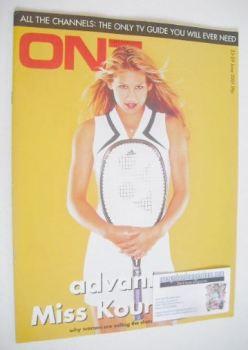 ON7 magazine - 23-29 June 2001 - Anna Kournikova cover