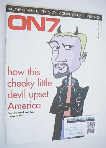 <!--2001-05-05-->ON7 magazine - 5-11 May 2001 - The Devil cover